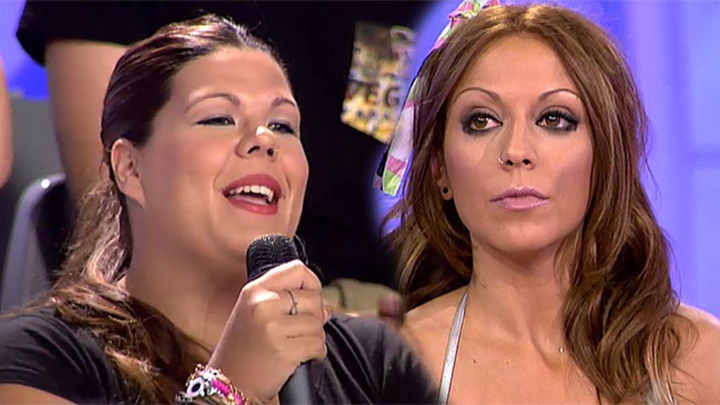 """Nuria, a Tamara: """"En el próximo programa cuento lo que sé de ti"""""""