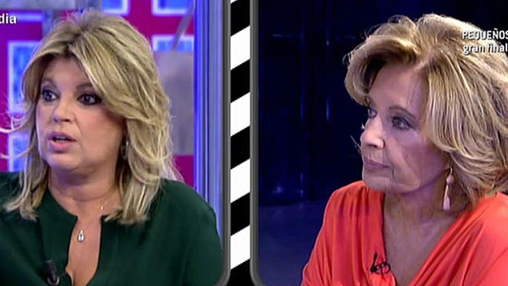 """María Teresa Campos: """"Yo no he visto todavía la nueva casa de Terelu"""""""