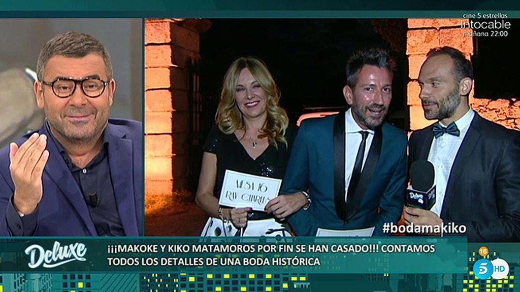 """Belén Rodríguez: """"Kiko Maramoros ha llorado en muchos momentos de la ceremonia"""""""