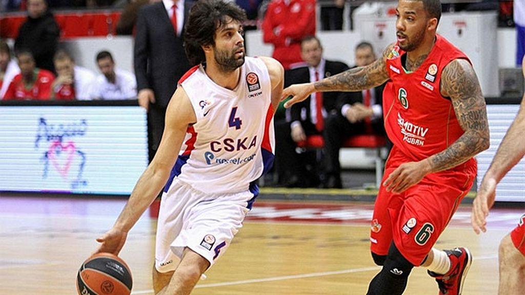 Teodosic resuelve el partido en la prórroga para el CSKA ante el Lokomotiv (77-84)