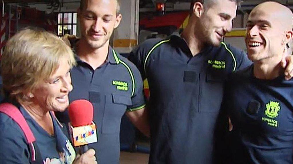 Diario Che con los bomberos de Madrid