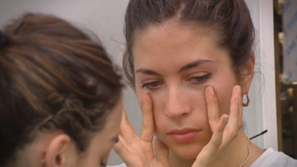 En el próximo programa... Alicia no puede evitar las lágrimas
