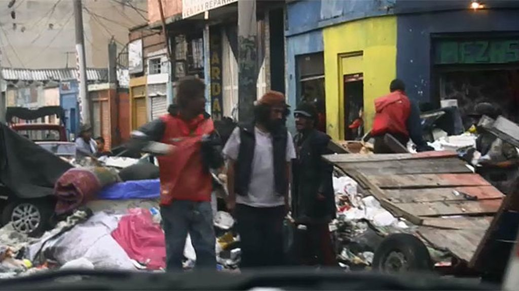 La calle Bronx es el punto donde más droga se vende de todo Latinoamérica