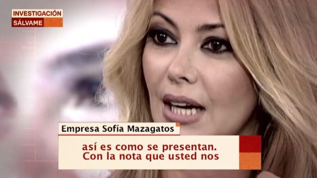 Sofía Mazagatos es quien regenta la empresa 'Díselo con frutas'