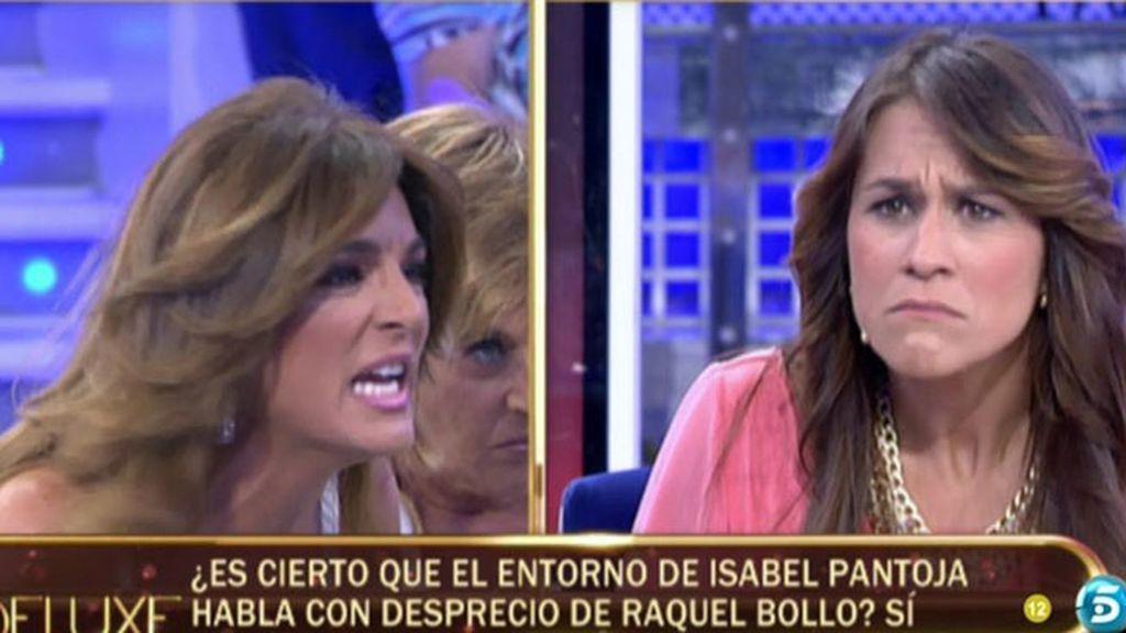 """Raquel Bollo: """"Ni muerta de hambre hablaría yo mal de Isabel Pantoja"""""""