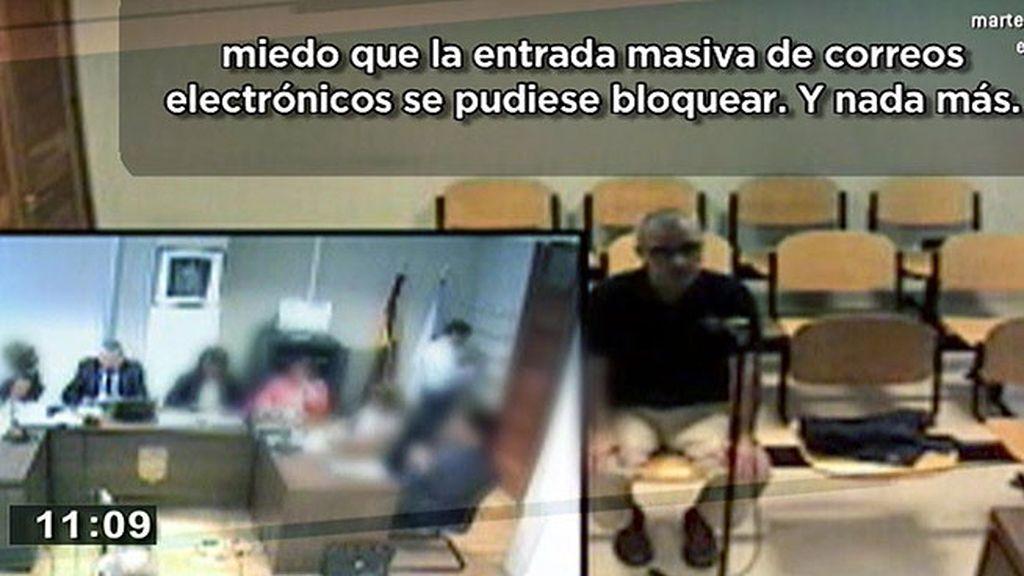 Porto le pidió a Basterra que borrara correos de su ordenador tras su detención
