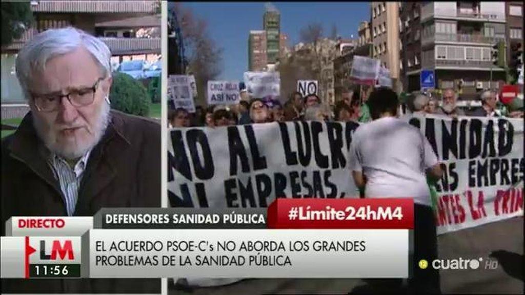 """Marciano Sánchez Baile: """"La fórmula en Sanidad del PSOE y Ciudadanos es ambigua"""""""