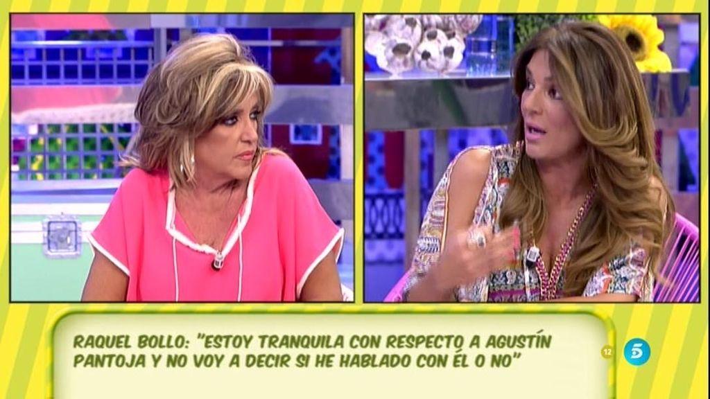 """Raquel Bollo, sobre la polémica de lo que dijo sobre Agustín Pantoja: """"Estoy tranquila"""""""