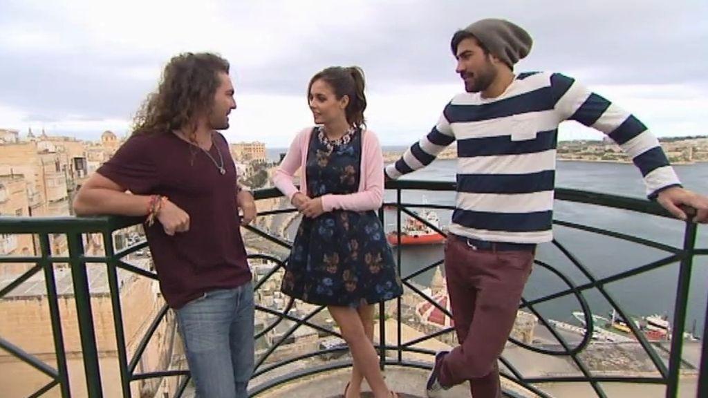 """Laura se relaja y se olvida de su preferido en Malta: """"¿Quién es Pablo?"""""""