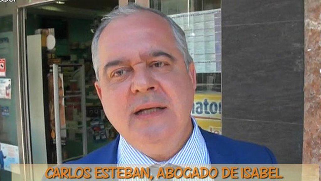 """Carlos Esteban, abogado de Isabel Pantoja: """"No hay ningún trato de favor"""""""