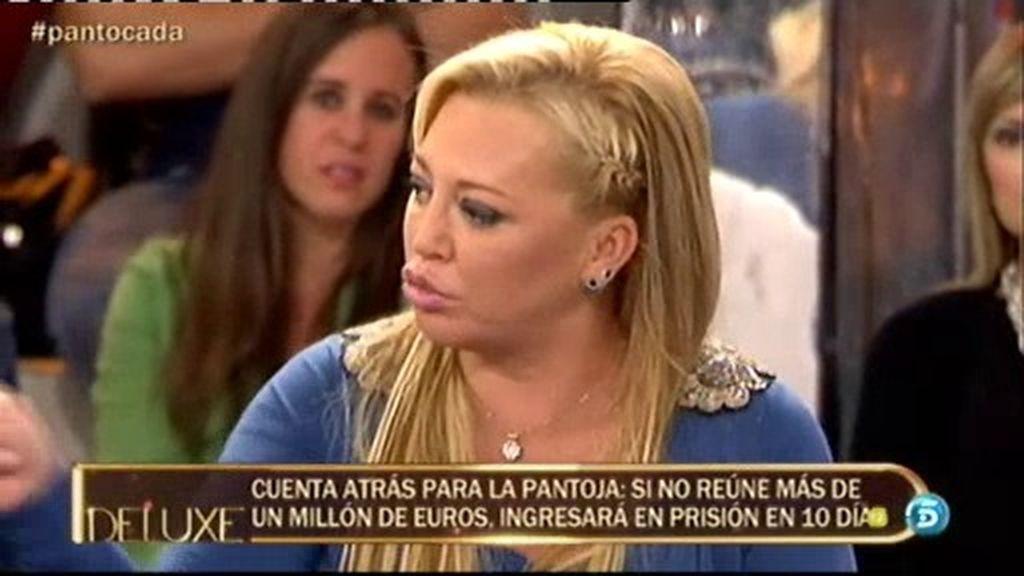 """Belén Esteban: """"Anabel dice que parece que Kiko y Mila quieren ver a su tía en la cárcel"""""""