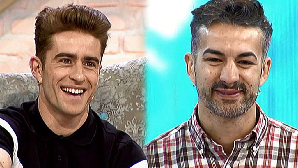 """Jose cree que a Pelayo le queda mejor el pelo oscuro: """"Te lo digo por tu bien"""""""