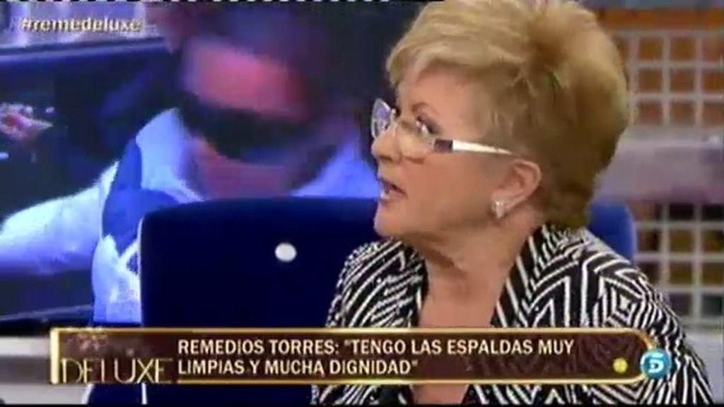 """Remedios Torres: """"Pido perdón a Belén por responder a las preguntas de su hija"""""""