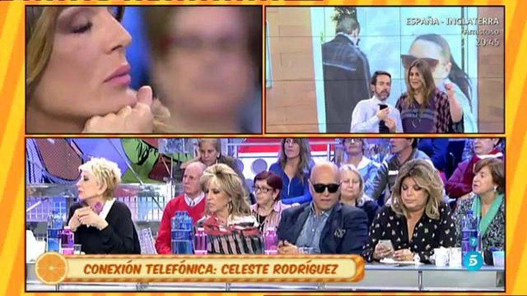 """Celeste Rodríguez, de Pantoja: """"No me consta que haya hablado mal de Raquel"""""""