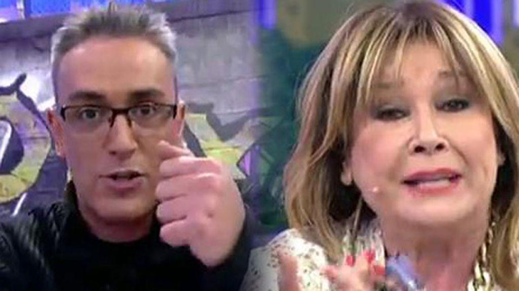 Las respuestas de Kiko Hernández y Mila a María José Campanario