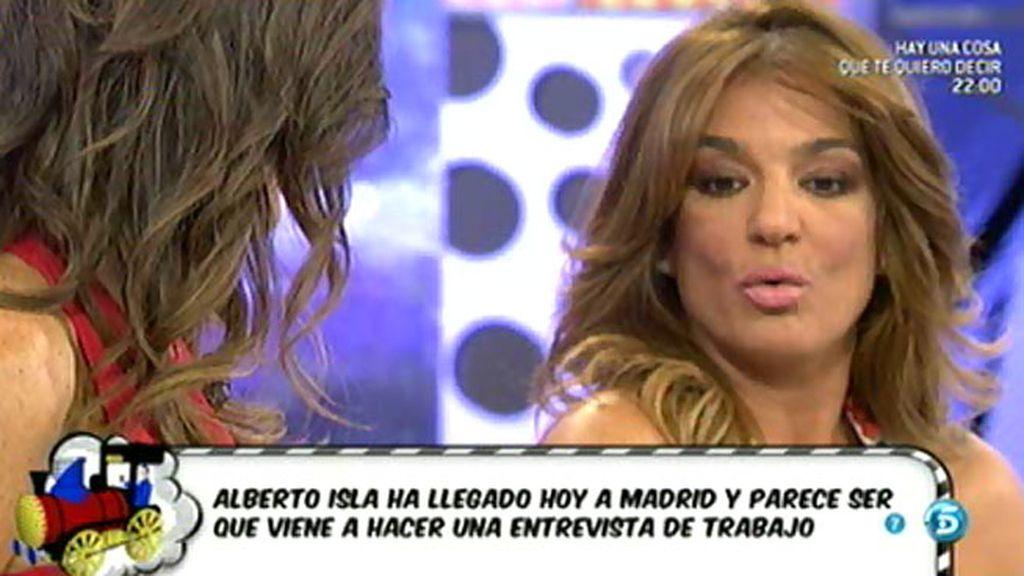 Alberto Isla tendría una entrevista de trabajo en Madrid, según Raquel Bollo