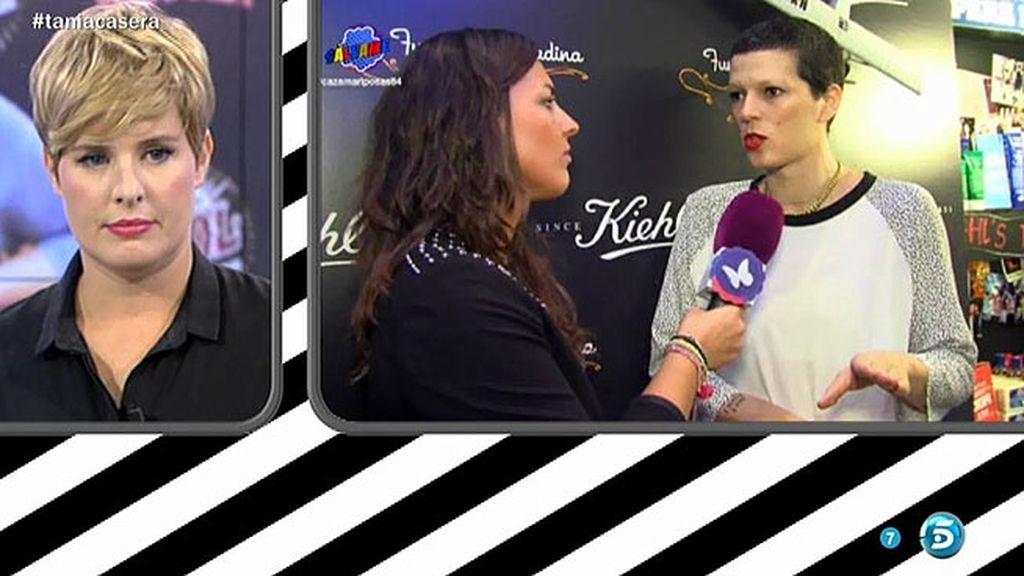 Los famosos apoyan a Tania Llasera