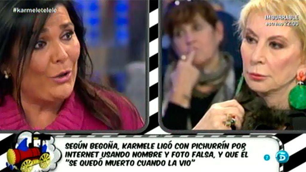 """Karmele Marchante: """"Diego es un canalla"""""""