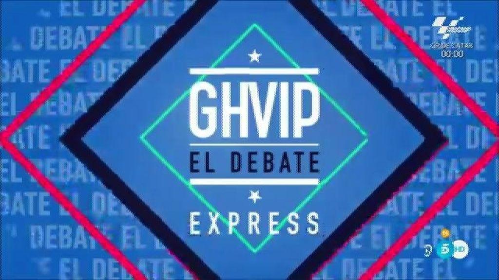 El debate de 'GH VIP' (21/03/16)
