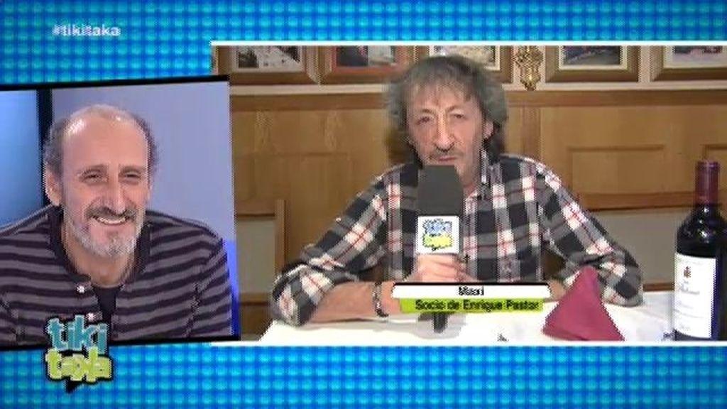 Maxi (de 'La que se avecina') da un palo a 'su socio' Enrique Pastor en Tiki Taka