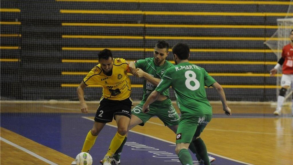 Gran Canaria vence a  Magna Navarra en el último minuto de un partido de infarto (6-5)
