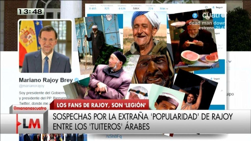 El 'milagro mariano': los sospechosos seguidores árabes de Rajoy en Twitter
