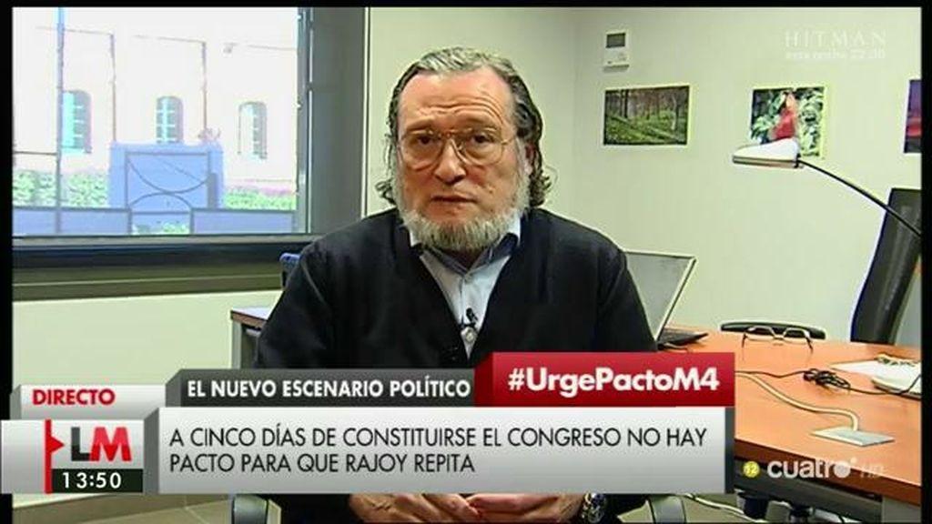 """Santiago Niño Becerra: """"Gobierne quien gobierne en España va a temer que poner encima de la mesa 14.000 millones"""""""