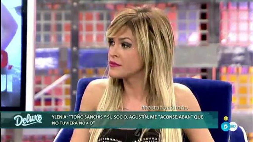 """Ylenia: """"A Toño Sanchís y a su socio no les interesaba que yo tuviera pareja"""""""