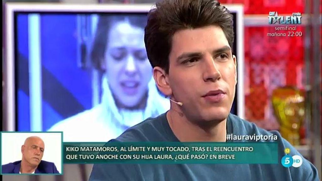 "Diego Matamoros: ""Si a mi padre el día de mañana le pasa algo grave, yo voy a estar ahí"""