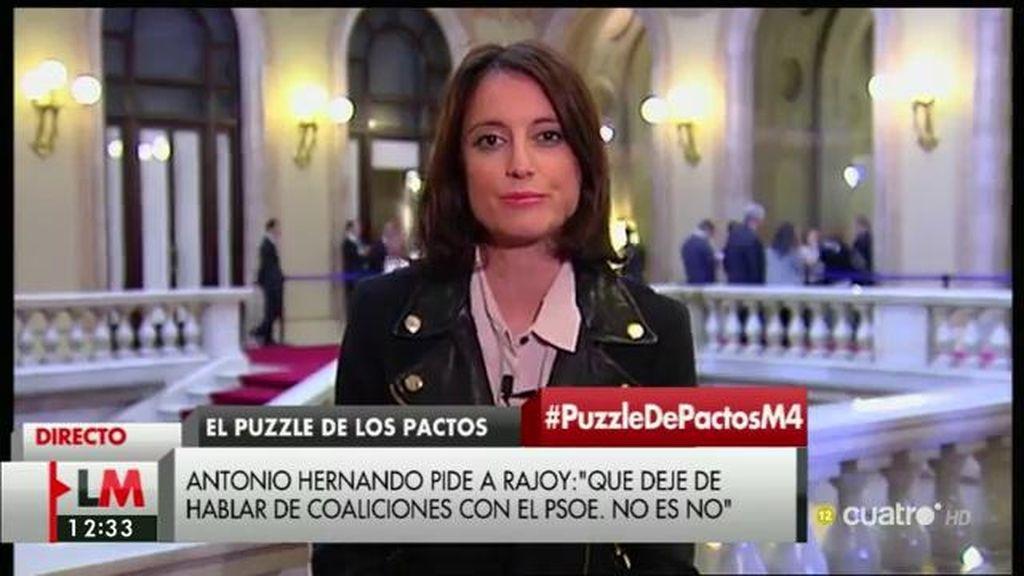 """Andrea Levy: """"Los catalanes estamos cansados, es mejor ir a elecciones que seguir viendo este espectáculo"""""""