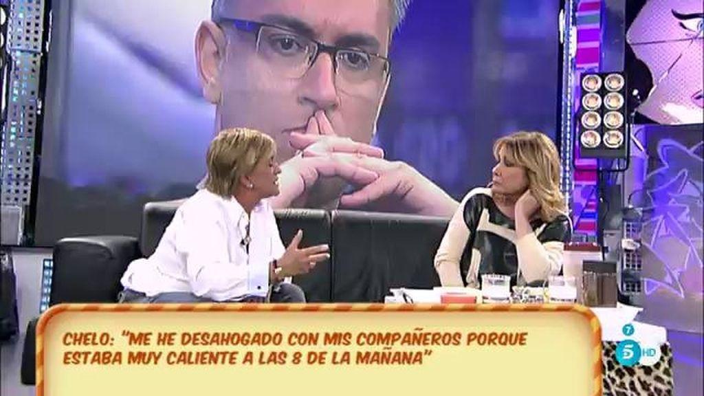 """Mila Ximénez acepta las disculpas de Chelo García-Cortés tras llamarla """"ridícula"""""""