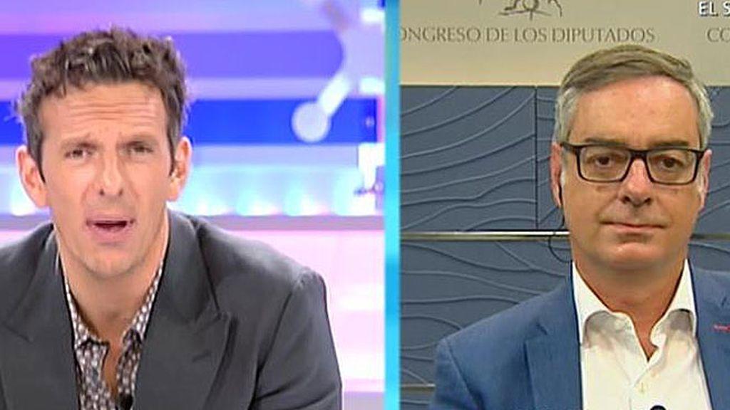 """José Manuel Villegas: """"El PSOE no se puede mantener en un no al Gobierno, a una alternativa y a unas nuevas elecciones"""""""