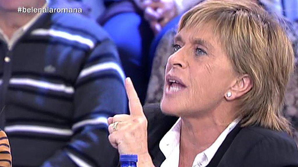 """Chelo Gª Cortés, a Kiko H.: """"Ni tú ni nadie va a juzgar mi trabajo, eres un demagogo"""""""