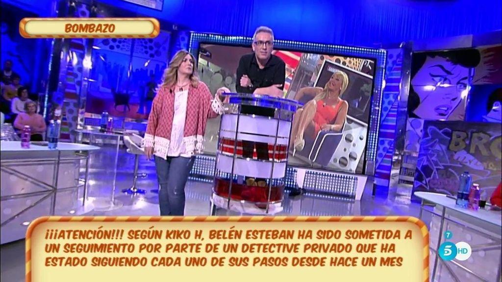Belén Esteban está siendo investigada por un detective privado, según Kiko Hernández