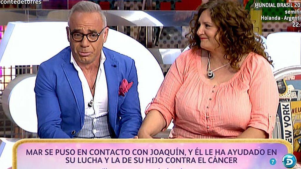 Joaquín T. recibe una sorpresa muy especial