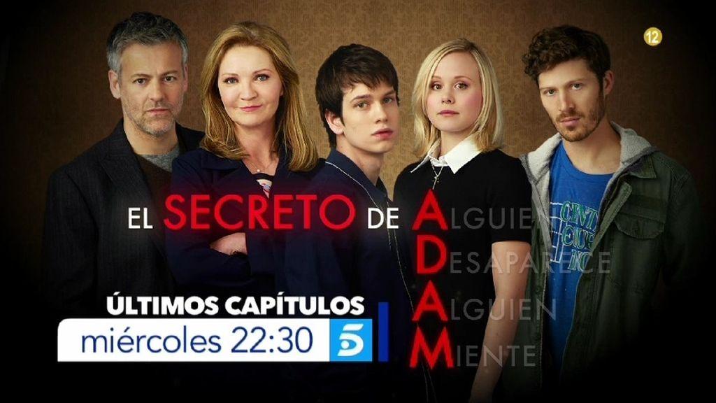 Esta noche a las 22.30 horas, últimos capítulos de 'El secreto de Adam'