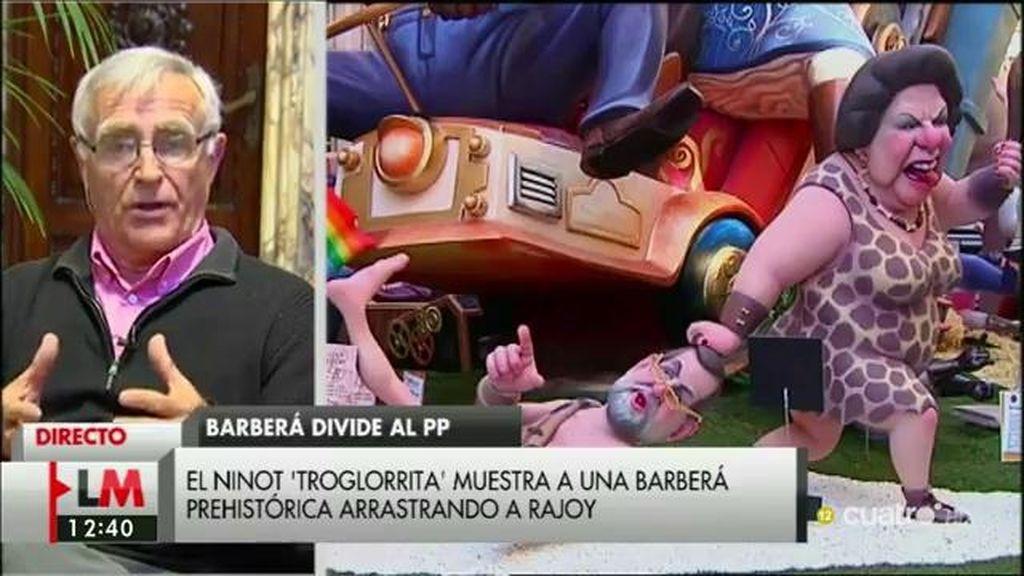 """Ribó: """"Barberá está alentando a los concejales del grupo en Valencia a una rebelión contra el mismo PP"""""""