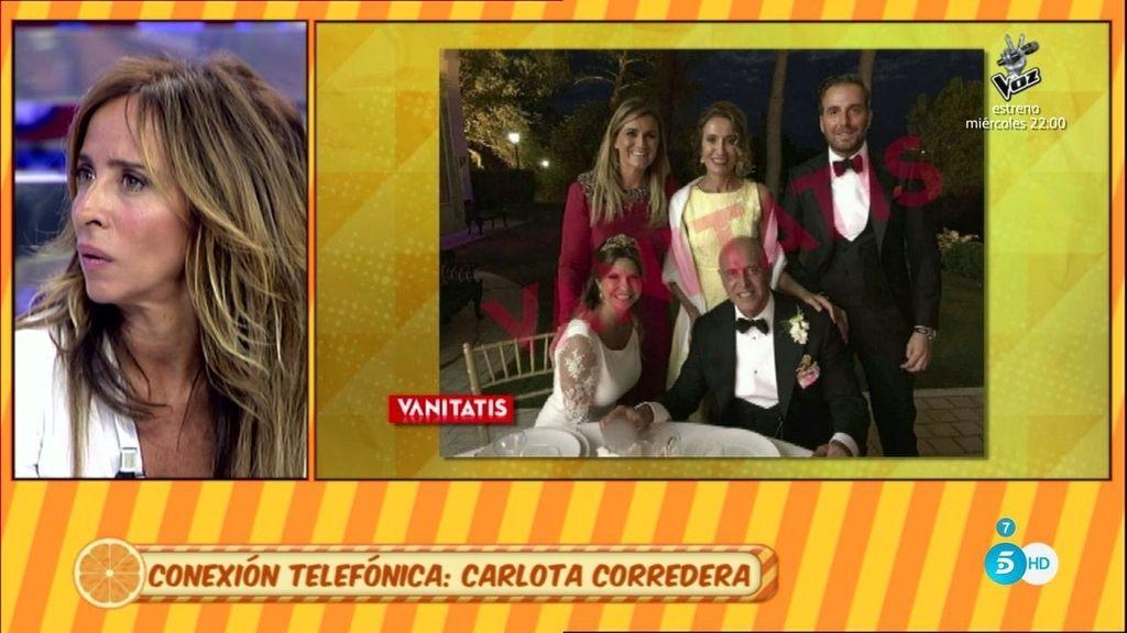 """Carlota Corredera: """"Me arrepiento de haber mandado fotos de la boda a Patiño y J.M"""""""