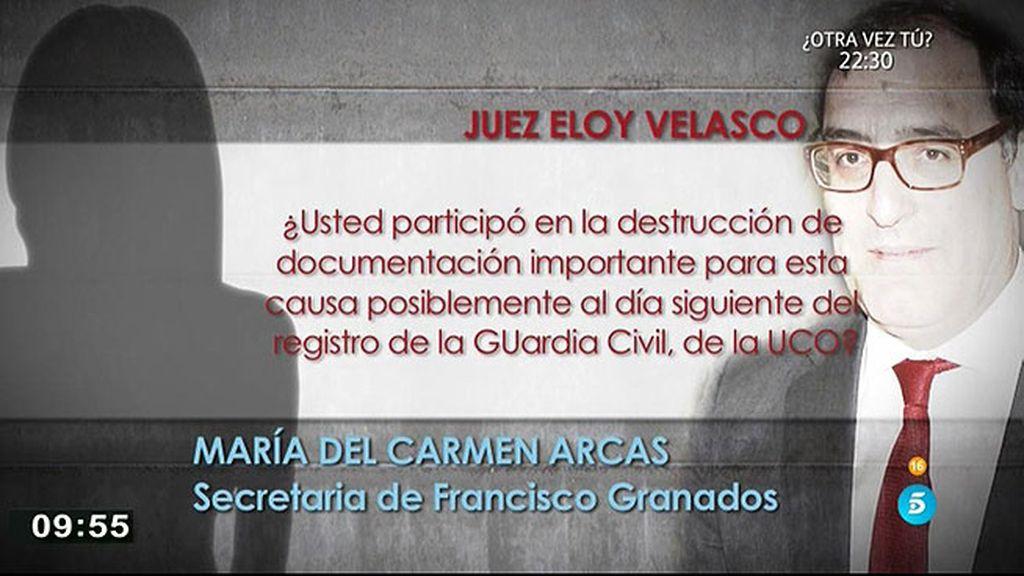 Velasco cree que personas del Ayuntamiento de Valdemoro destruyeron documentos
