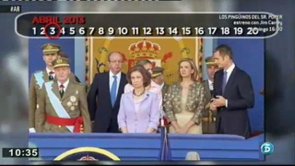 La Infanta Cristina: diez meses en el punto de mira
