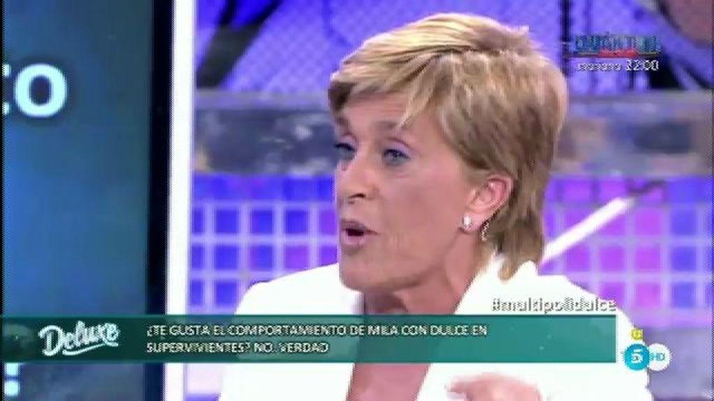 """Chelo García-Cortés: """"Creo que Mila está humillando a Dulce"""""""