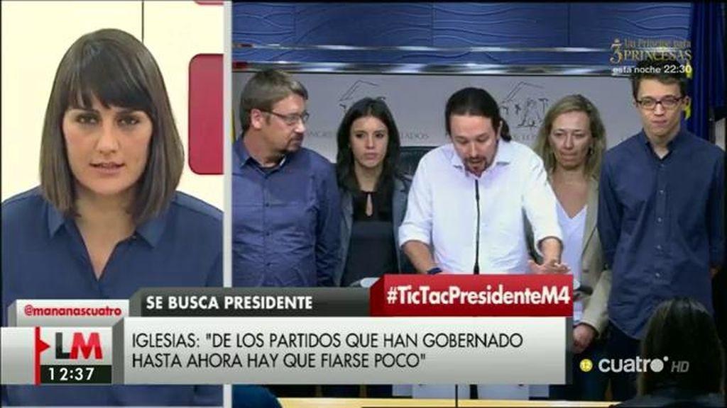 """González Veracruz: """"Rajoy debería irse y dejar de amenazar a los españoles"""""""