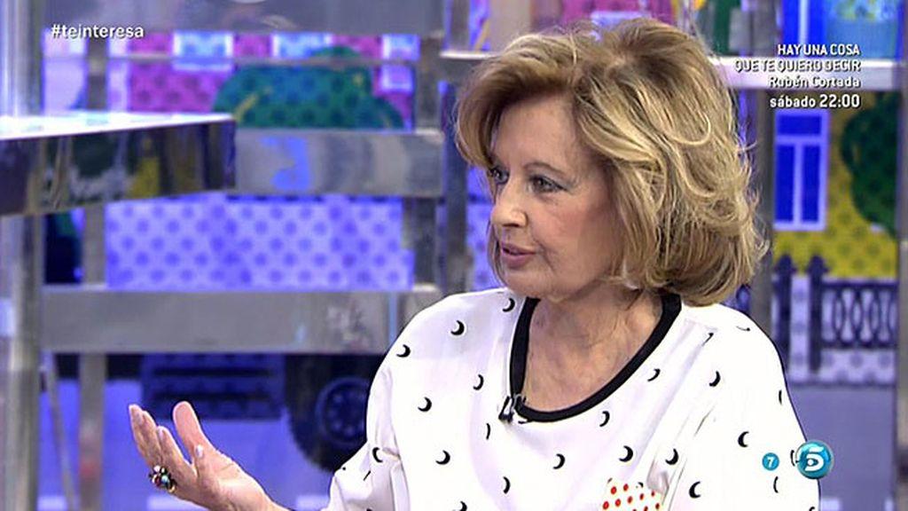 """Teresa, sobre el ingreso en prisión de Ortega Cano: """"Si lo hubiera visto la Jurado"""""""