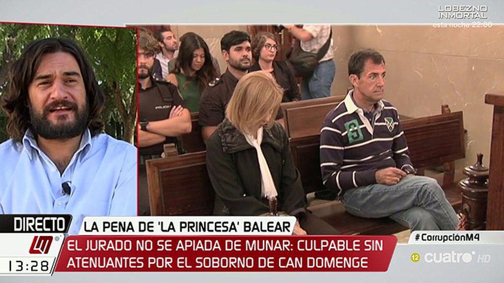"""Manuel Jabois: """"María Antonia Munar está muerta económica, social y políticamente"""""""