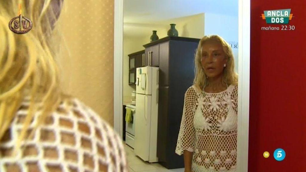 """El momentazo de Lomana frente al espejo: """"Las tetillas parecen un calcetín"""""""