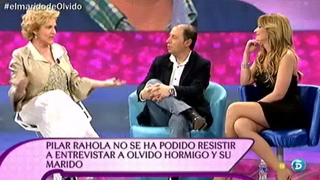 """Pilar Rahola: """"Me parece repugnante traer a un marido para que pasee sus cuernos"""""""