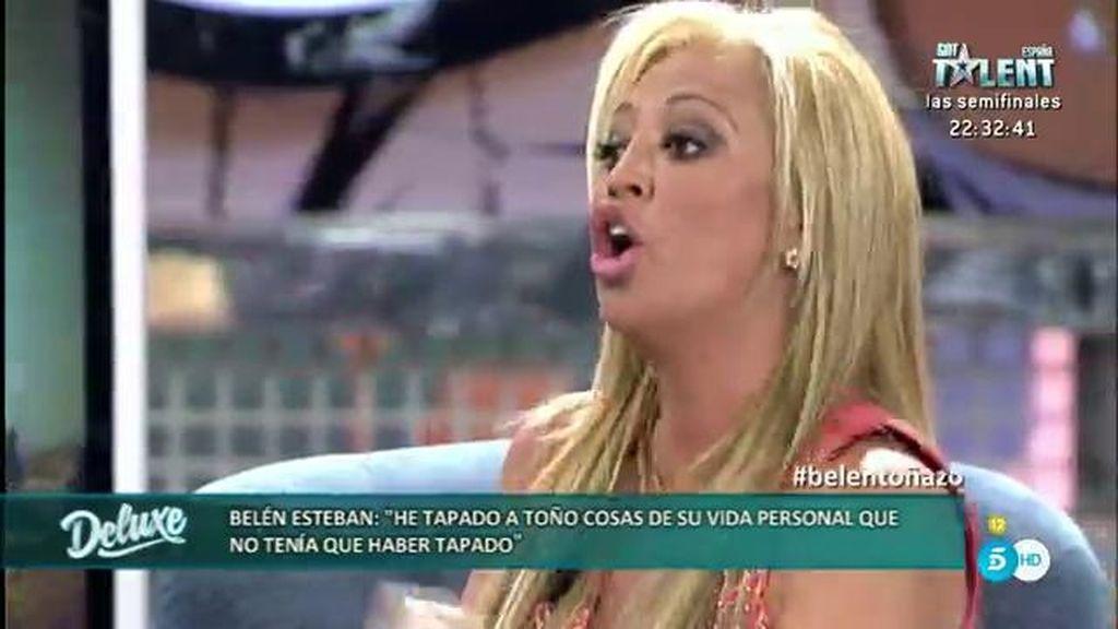 """Belén Esteban: """"Si a Toño le dicen que he dejado a Miguel, me llama en el acto"""""""