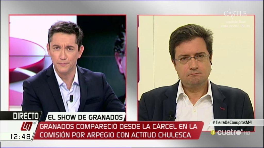 La entrevista de Óscar López, a la carta