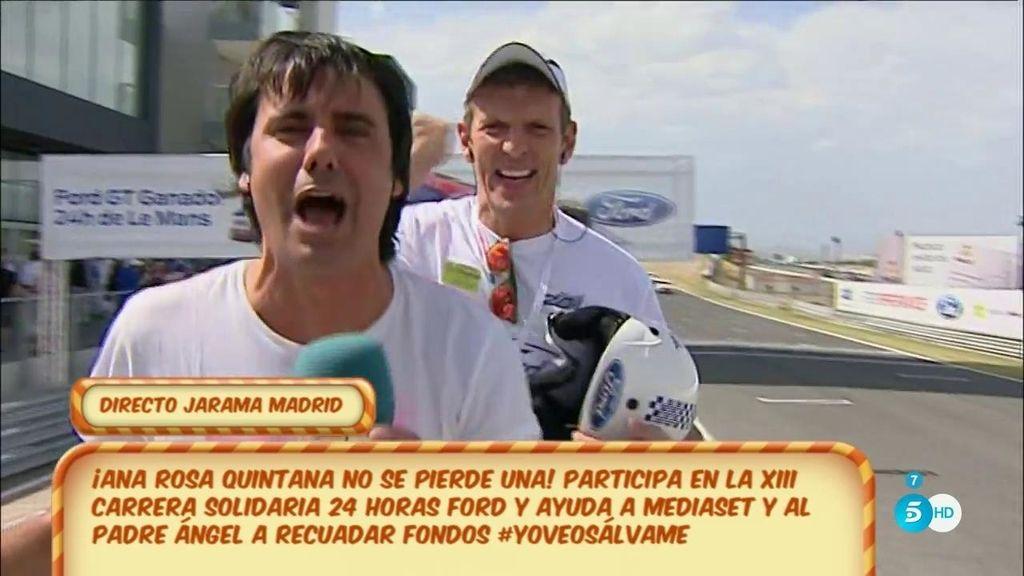 Mediaset participa en la 'XIII Carrera solidaria de Ford' por 'Mensajeros de la Paz'