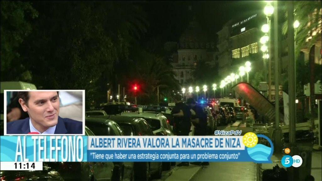 """Rivera: """"Europa tiene el reto de buscar el equilibrio entre la libertad y la seguridad"""""""